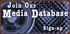Join our media database. Sign-up.